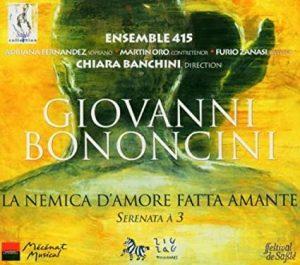 G.Bononcini La Nemica d'Amore