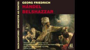 G.F.Handel Belshazzar