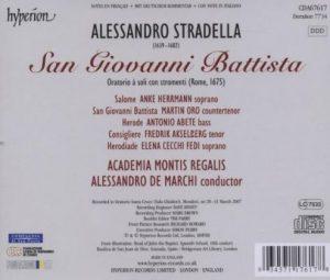 A.Stradella San Giovanni Battista